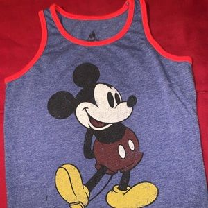 Boys Mickey Mouse Muscle Tank
